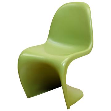 パントンチェア グリーン つやなし ヴェルナー・パントン 椅子 スタッキングチェア