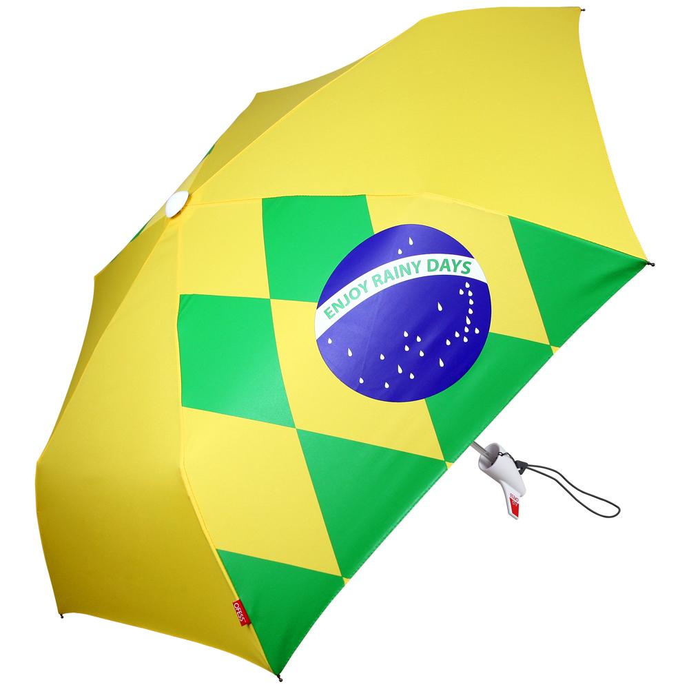 オフェス 傘 OFESS ofess エアーオフェス ブラジル AIR OFESS UV 折りたたみ傘 折り畳み傘 折畳