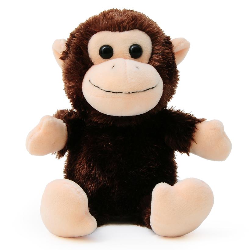 マイムフレンズ Mime Friends モンキー さる 猿 かわいい ぬいぐるみ おもちゃ オウム返し ものまね Monkey