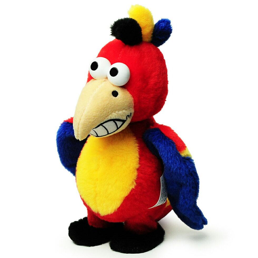 マイムフレンズ Mime Friends ウォーキング パロット 歩くオウム ものまね ぬいぐるみ オウム返し 鳥 とり かわいい おもちゃ Walkingparrot