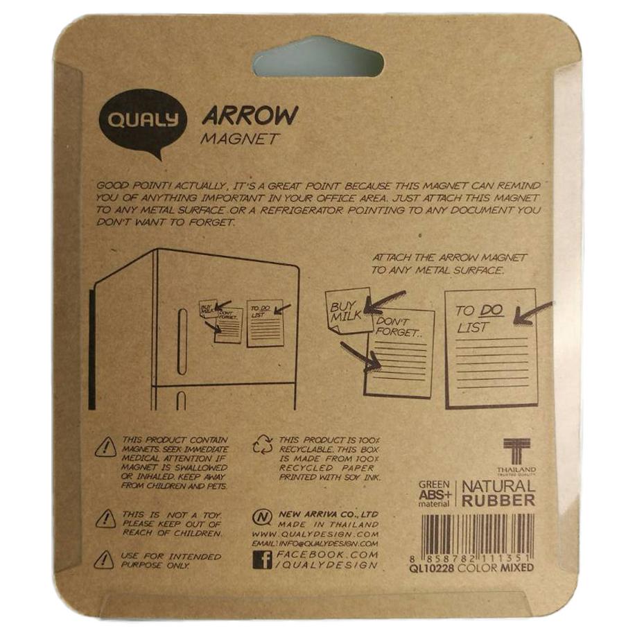 クオリー QUALY アローマグネット Arrow Magnet 矢印マグネット