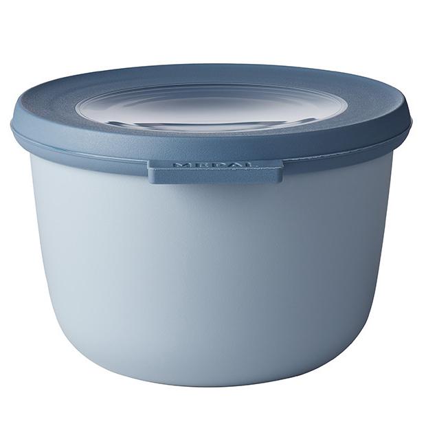 ロスティ メパル サーキュラ 保存容器 マルチ ボウル おしゃれ かわいい 500ml ほぼ密閉 冷凍 レンジ レンジ対応 電子レンジ 冷蔵 食洗機 ノルディック ブルー CIRQULA