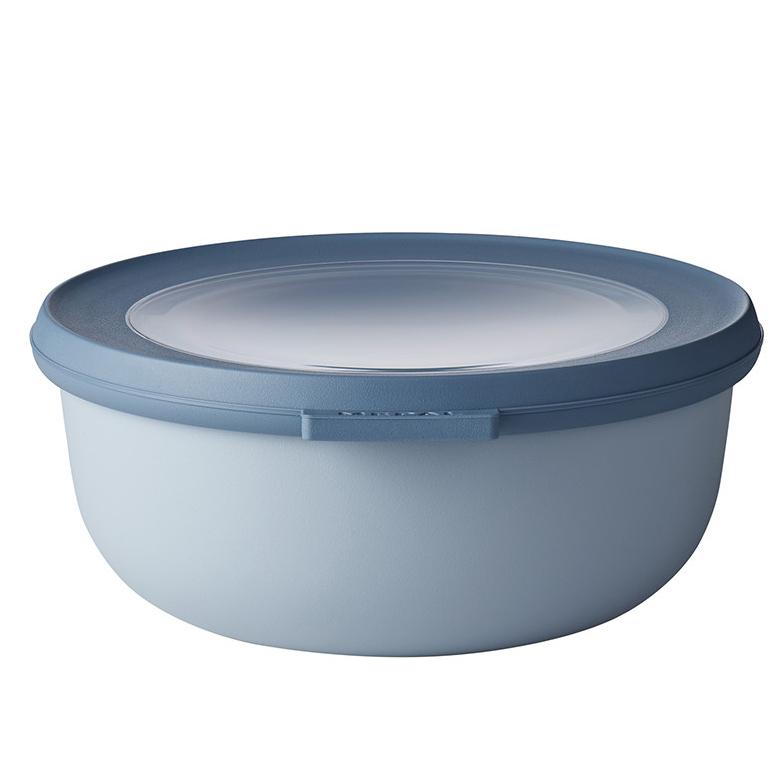 ロスティ メパル サーキュラ 保存容器 マルチ ボウル おしゃれ かわいい 350ml 750ml 1250ml LOW 平型 3個セット ノルディック ブルー ほぼ密閉 冷凍 レンジ レンジ対応 電子レンジ 冷蔵 食洗機 CIRQULA
