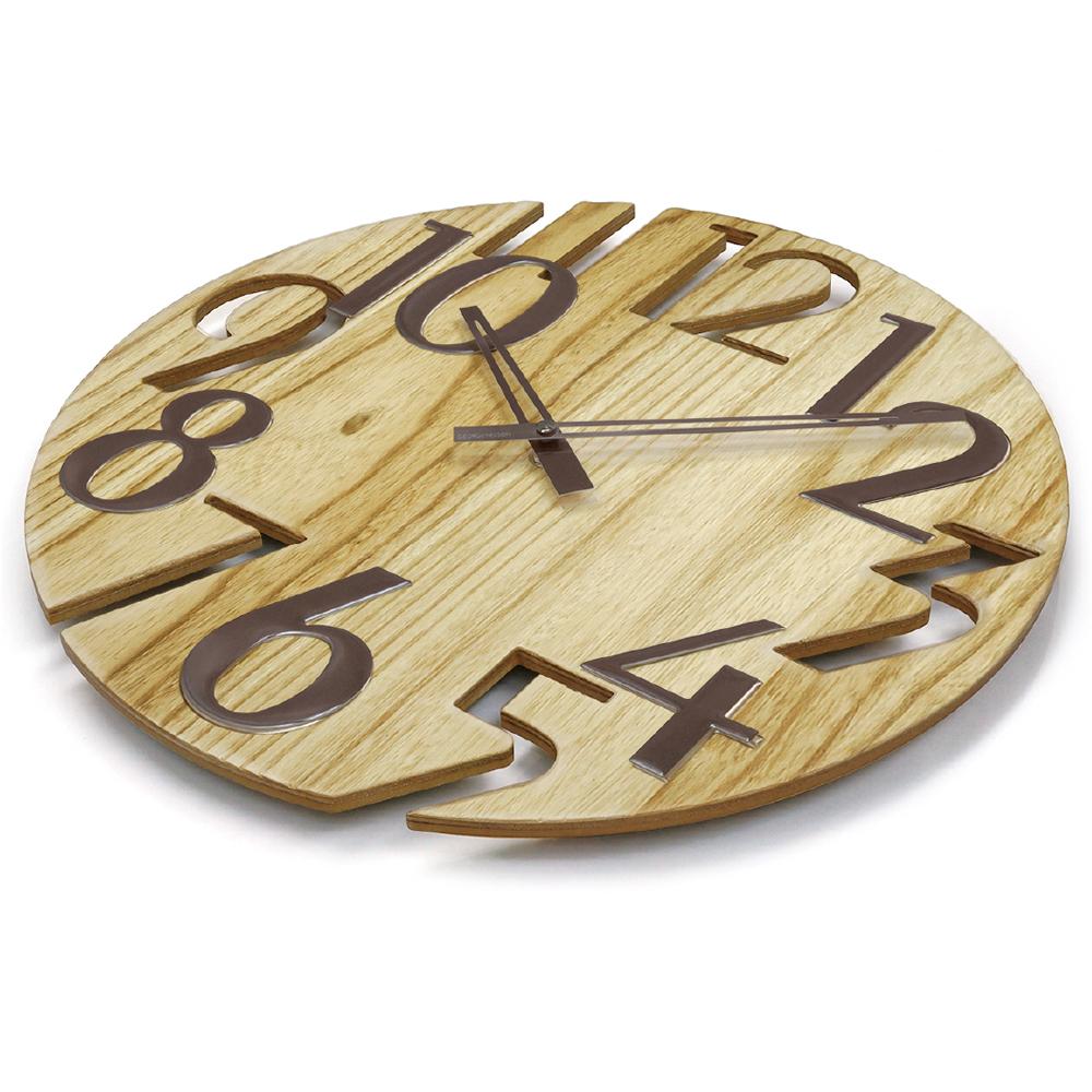 ジョージネルソン 時計 掛け時計 ウォールクロック ナチュラル プラタナス 正規ライセンス おしゃれ かわいい かっこいい 正規品