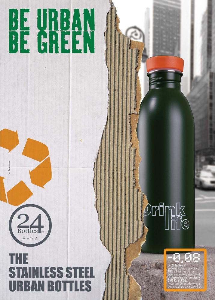 24ボトルズ 24BOTTLES ステンレスボトル アーバンボトル 500ml スチール 水筒 マイボトル