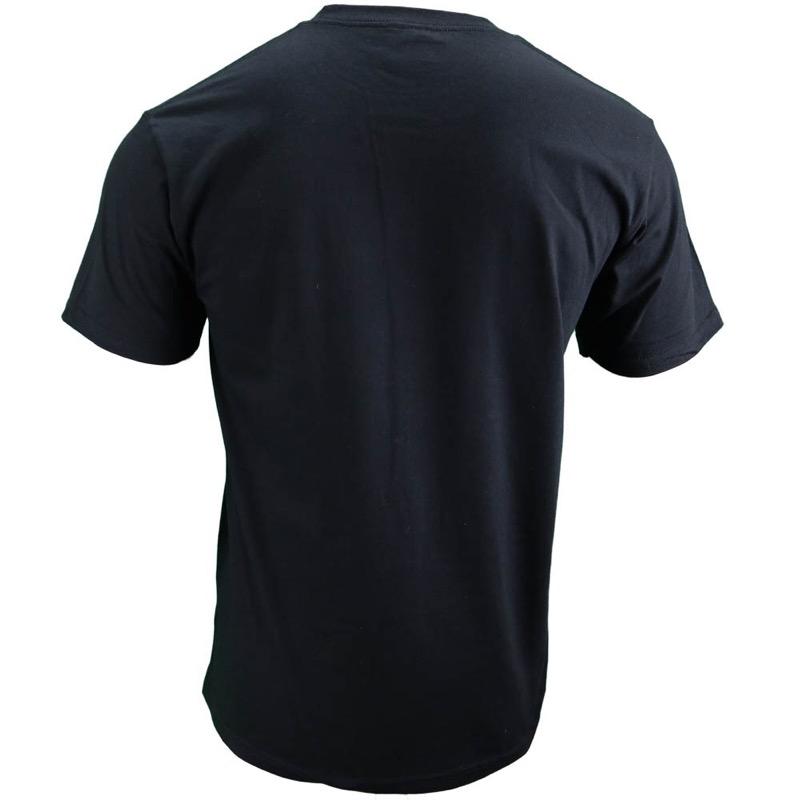 ポケ付きミラーロゴTシャツ