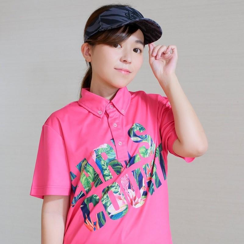 フラワーBIGロゴポロシャツ【EARLSCOURT】 アールズコート EC-G003