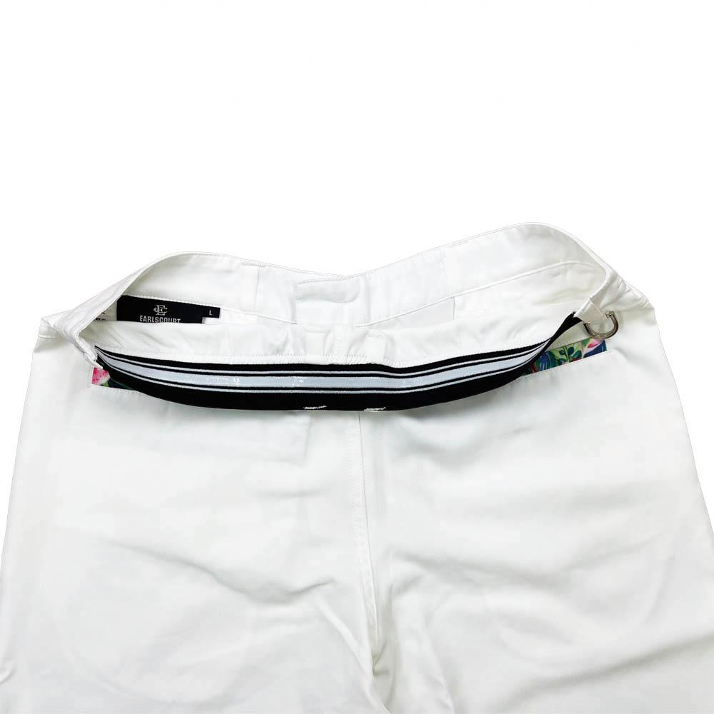 フラワー柄ポケットショートパンツ【EARLSCOURT】 アールズコート EC-G005