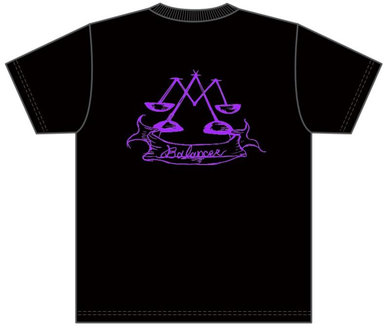 販売終了【BALANCER】ハイクオリティーワッペンTシャツ BLACK