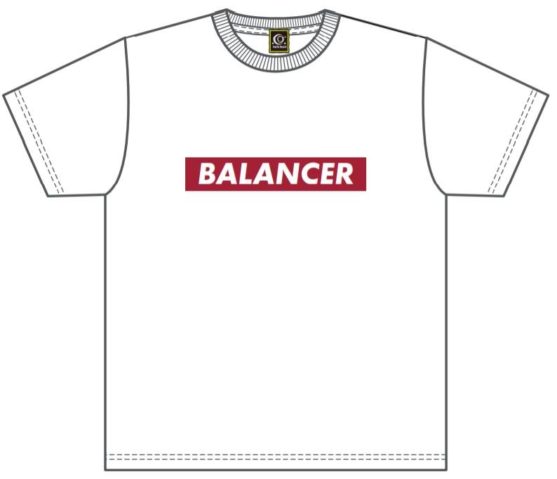 販売終了【BALANCER】BOXロゴプラクティスシャツ