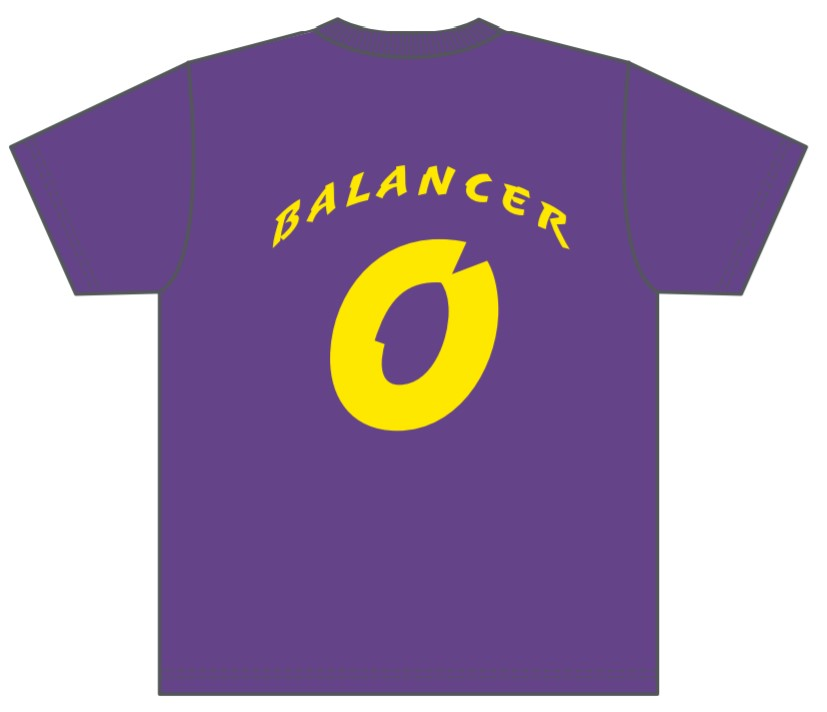 販売終了【BALANCER】LOOKATMEプラTシャツ