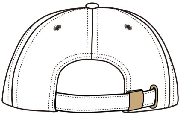 販売終了【BALANCER】刺繍ロゴツイルローキャップ