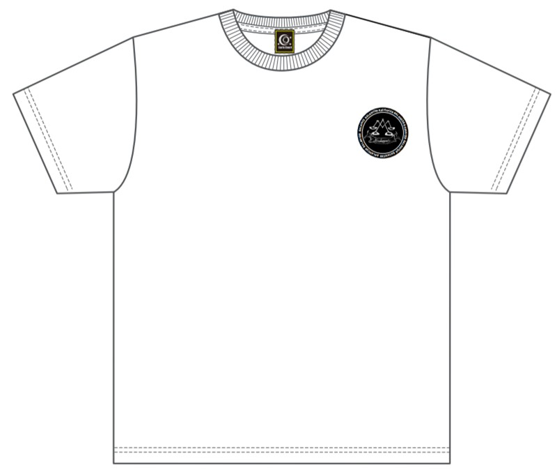 販売終了【BALANCER】ジュニアサイズ ハイクオリティワッペンTシャツ WHITE