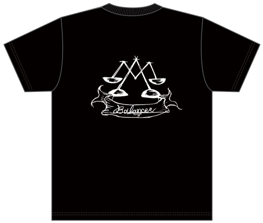 販売終了【BALANCER】ジュニアサイズ ハイクオリティーワッペンTシャツ BLACK