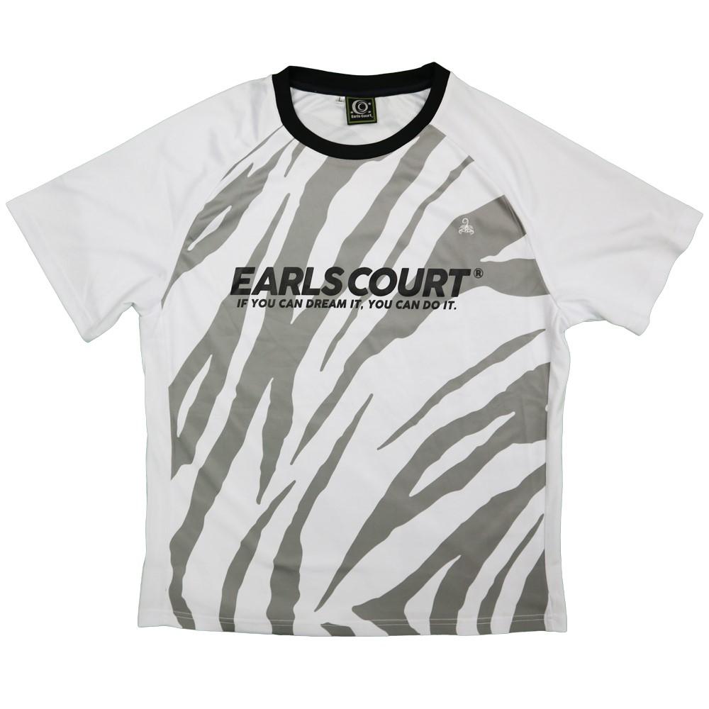 ゼブラ柄TRトップ【EARLSCOURT】アールズコート EC-S035