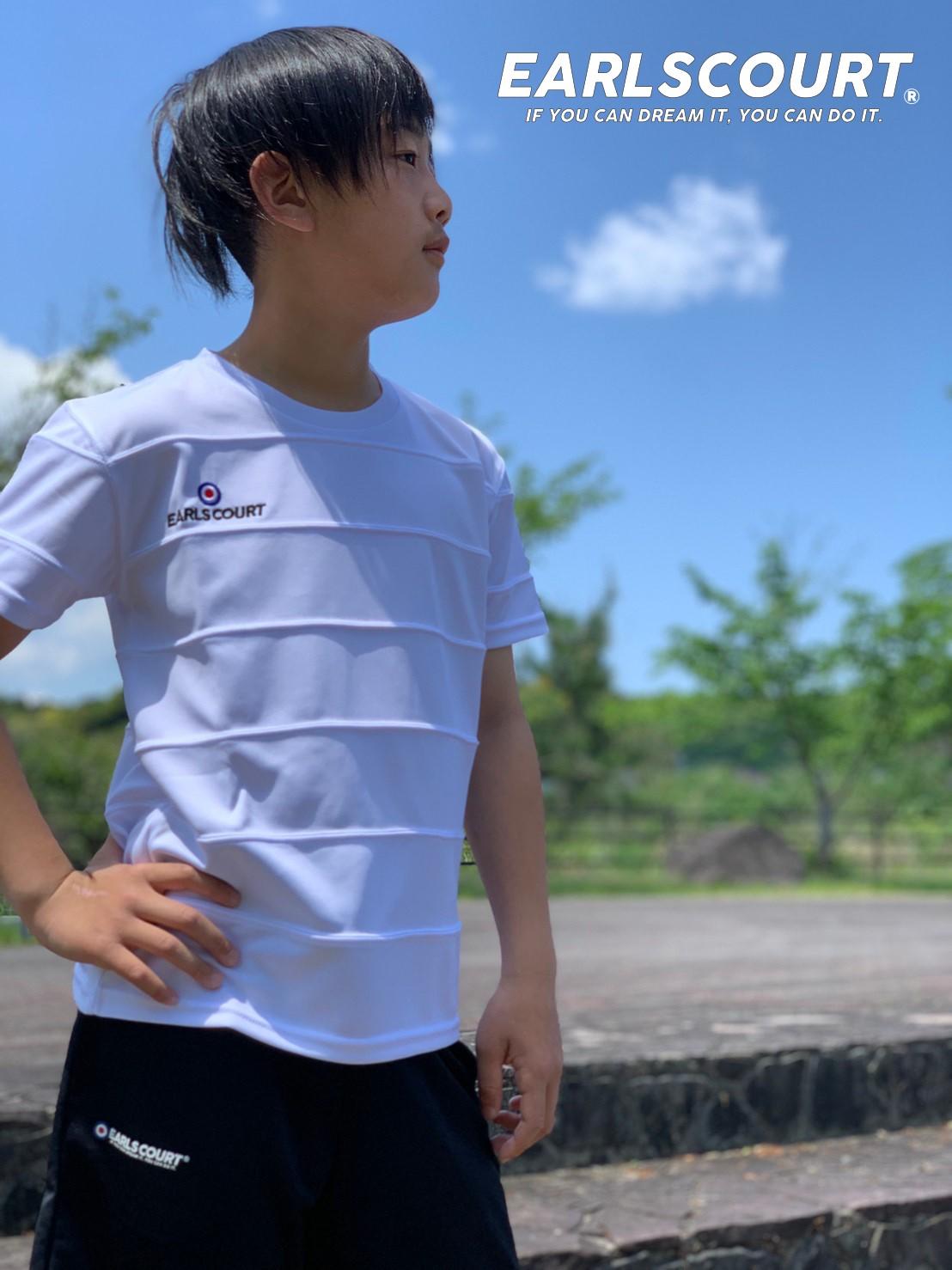 シンプルボーダー切替トップJ【EARLSCOURT】アールズコート ECJ-S031