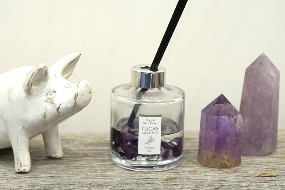 ラベンダーの香りで質の良い睡眠を【アメジスト】