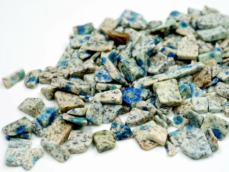 K2ブルー アズライト さざれチップ 100g 【浄化・エネルギーチャージに】