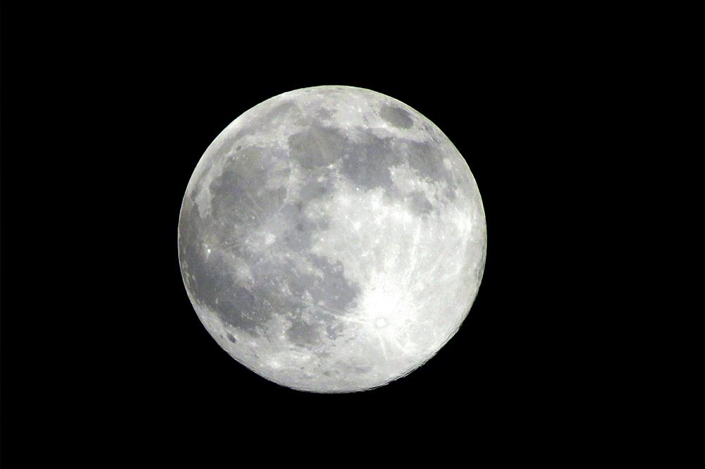 月光浴による浄化法
