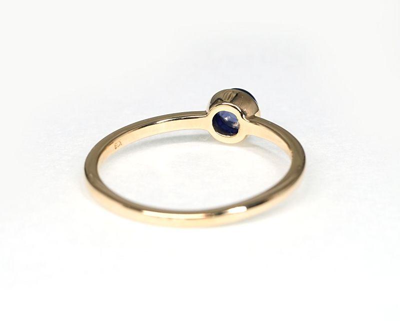 アイオライト K18リング・指輪 【前進・目標】 petitnoel  - Clochette [送料無料]