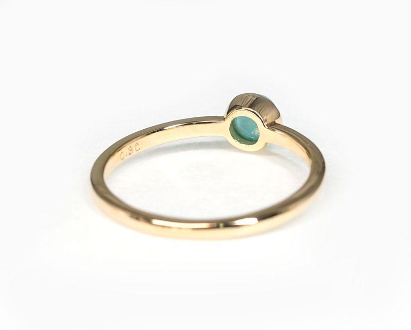 アマゾナイト K18リング・指輪 【希望・夢】  petitnoel  - Clochette [送料無料]