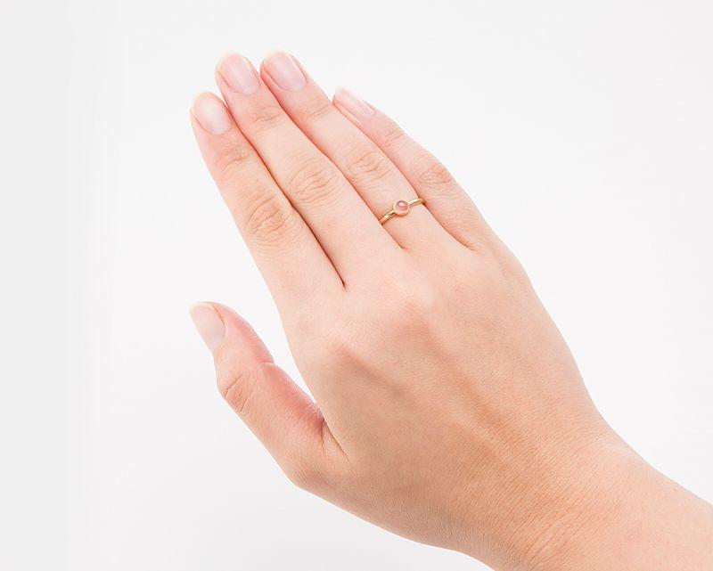 インカローズ K18リング・指輪 【恋愛・癒し】 petitnoel  - Clochette [送料無料]