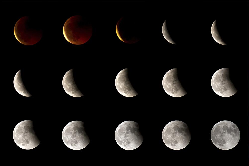 満月から新月に向けての過ごし方