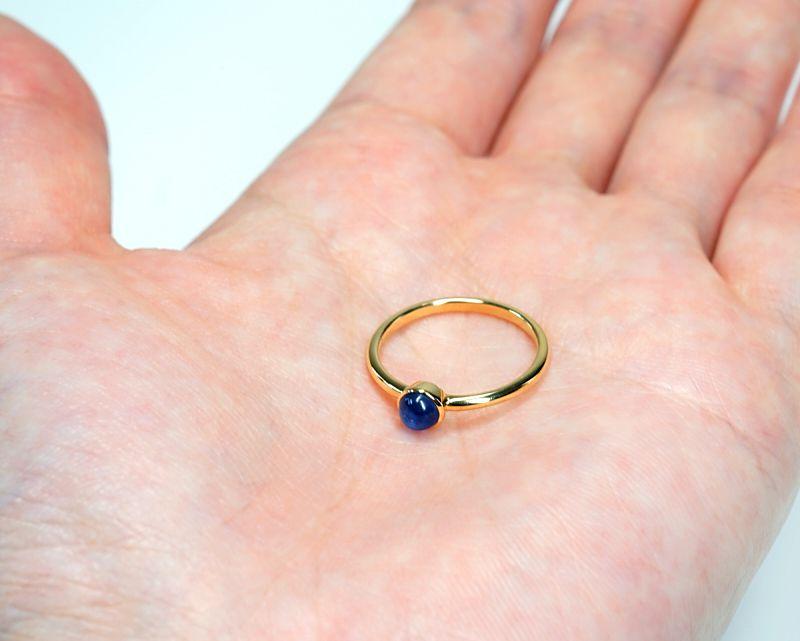 カイヤナイト K18リング・指輪 【創造力・直観力】 LUCAS  - Clochette [送料無料]