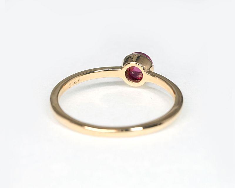 ピンクトルマリン K18リング・指輪 【愛情・癒し】 petitnoel  - Clochette [送料無料]