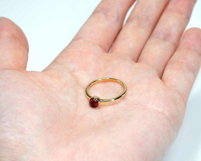 ピンクトルマリン K18リング・指輪 【愛情・癒し】 LUCAS  - Clochette [送料無料]