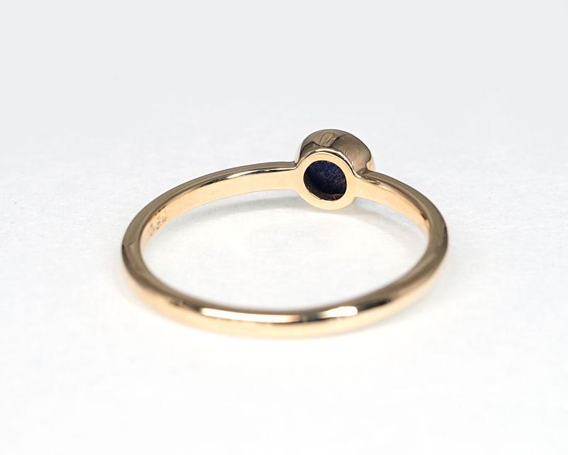 ラピスラズリ K18リング・指輪 【本気・高い次元】 LUCAS  - Clochette [送料無料]
