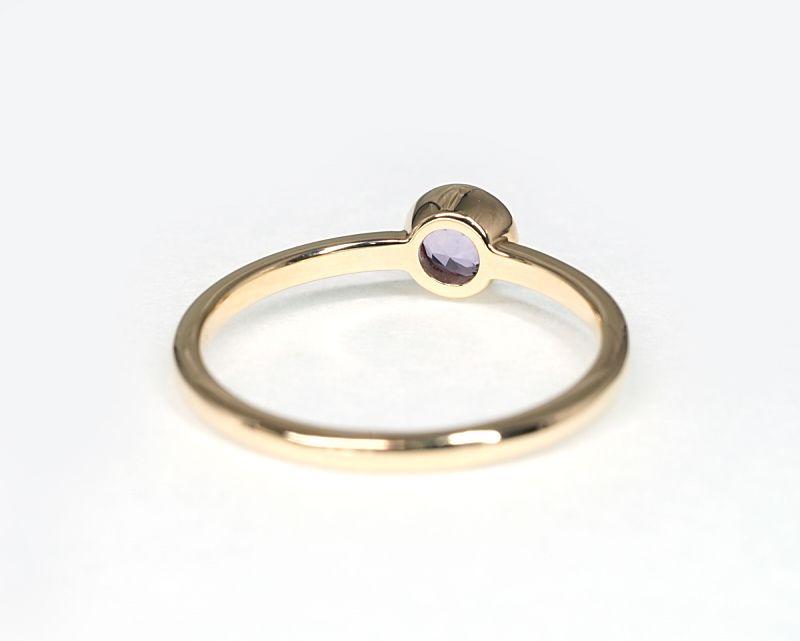 アメジスト(カット) K18リング・指輪 【慈愛・博愛】 petitnoel  - Clochette [送料無料]
