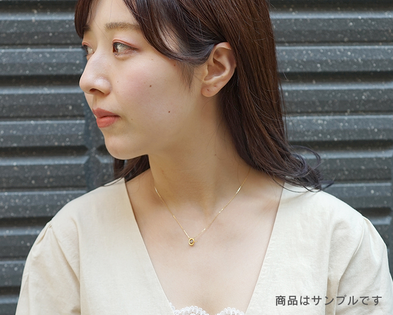 プラチナルチル K18ネックレス 【人脈・開花】 LUCAS  - Chou [送料無料]