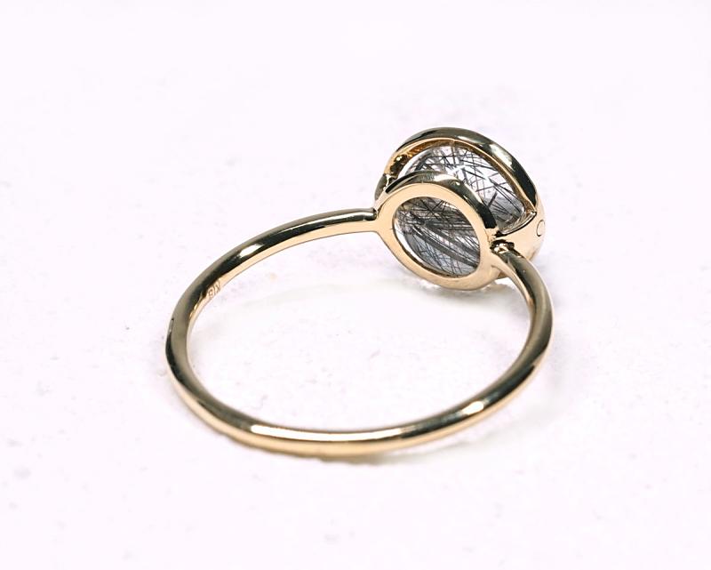 プラチナルチル K18リング・指輪 【人脈・開花】 petitnoel  - Chou [送料無料]