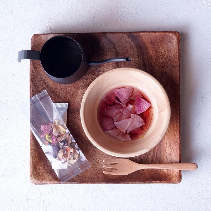 【あかもくとオーガニック野菜の食べるスープ】アカモク&ドライベジタブル サラダ スープ