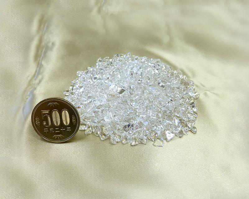 天然本水晶 さざれチップ (Sサイズ) 100g 【浄化・エネルギーチャージに】