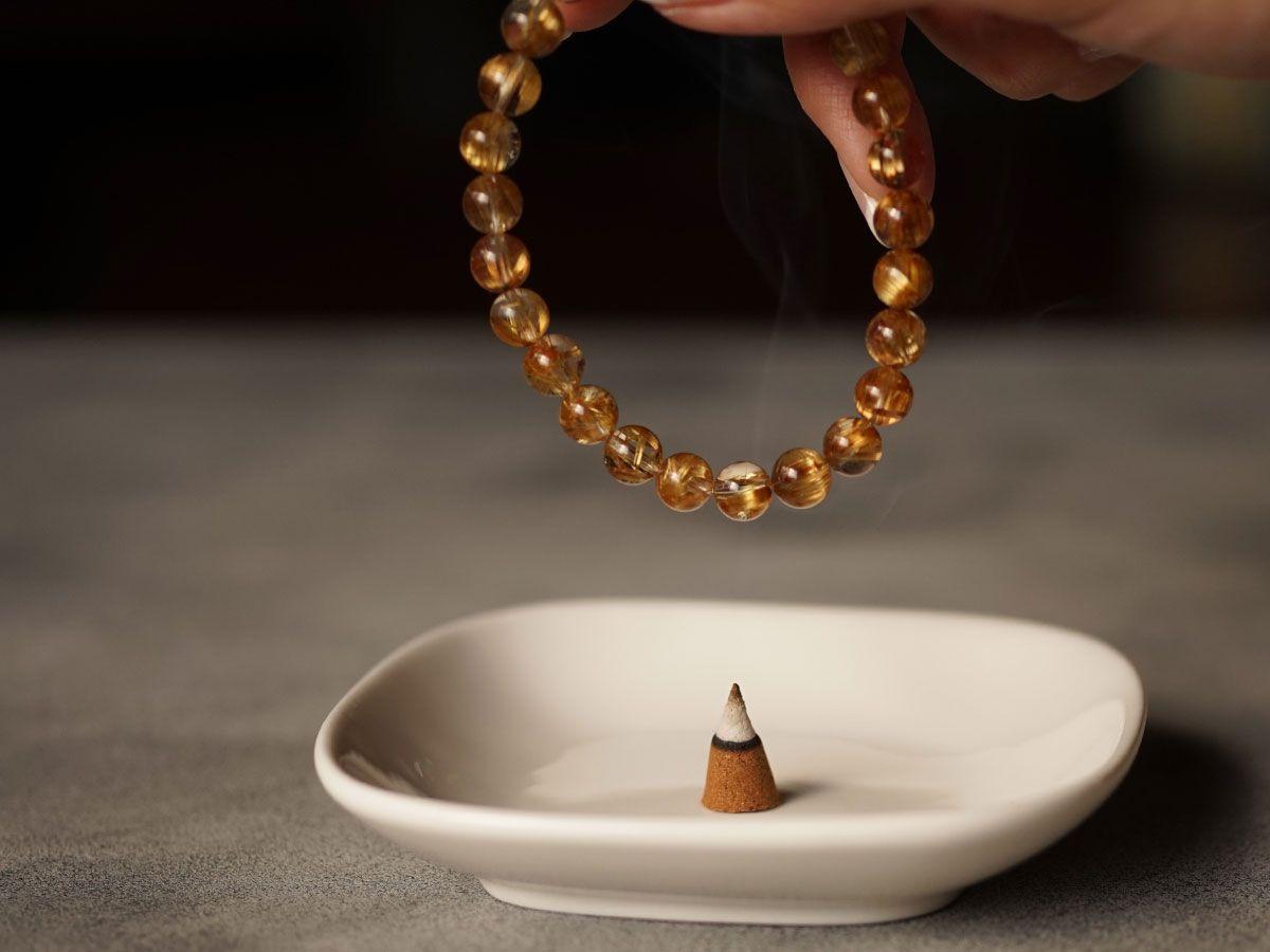 【定期お届けコース】サンダルウッド(白檀)&エクストラ・ホワイトセージ インセンス (ヨガ・瞑想用 浄化香:日本製) LUCAS ルカス