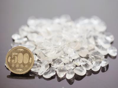 天然本水晶 さざれチップ (Lサイズ) 100g 【浄化・エネルギーチャージに】
