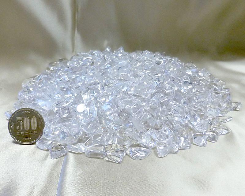 天然本水晶 さざれチップ (XLサイズ) 100g 【浄化・エネルギーチャージに】