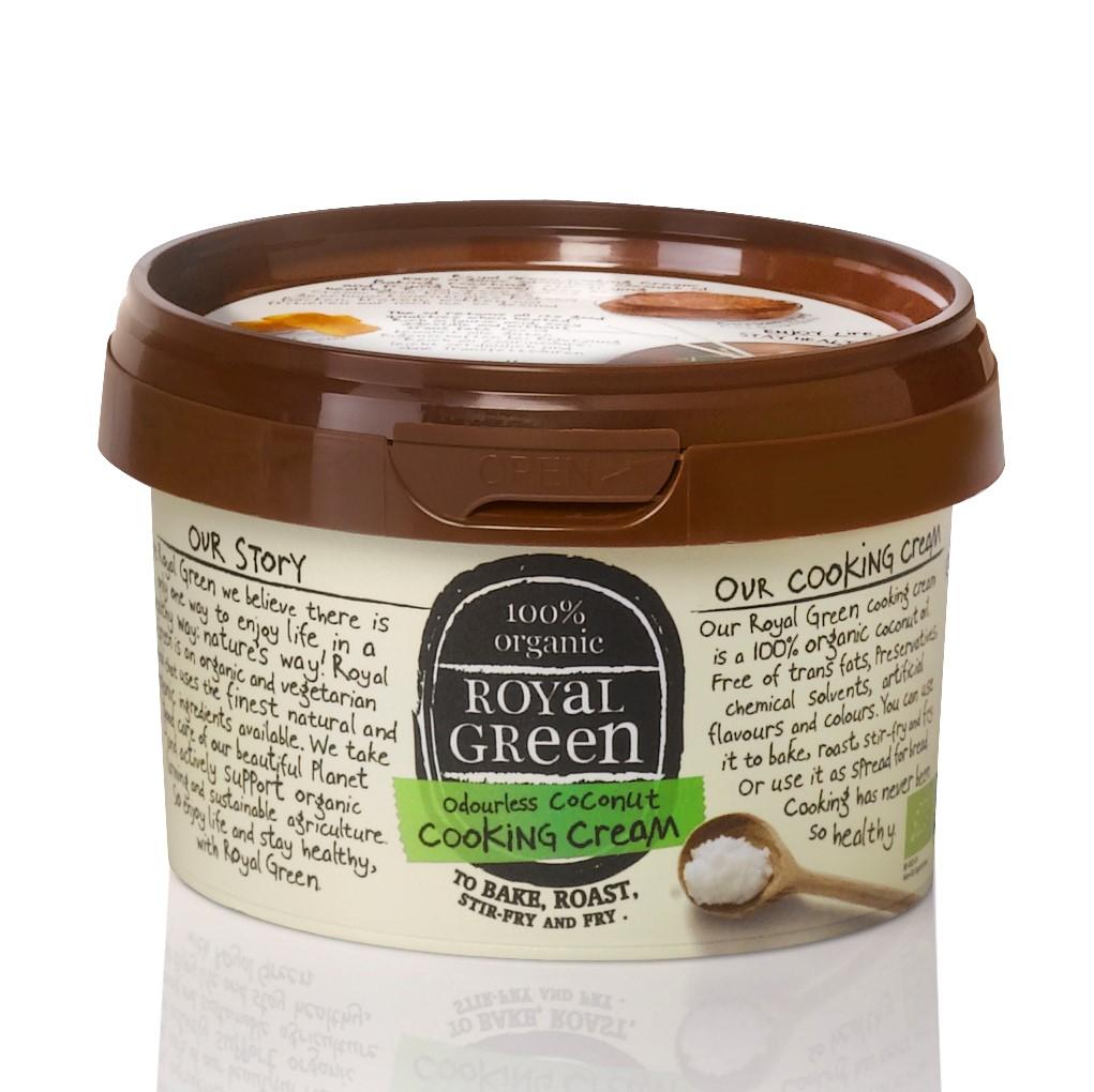 香りのない有機ココナッツオイル250ml|Royal Green