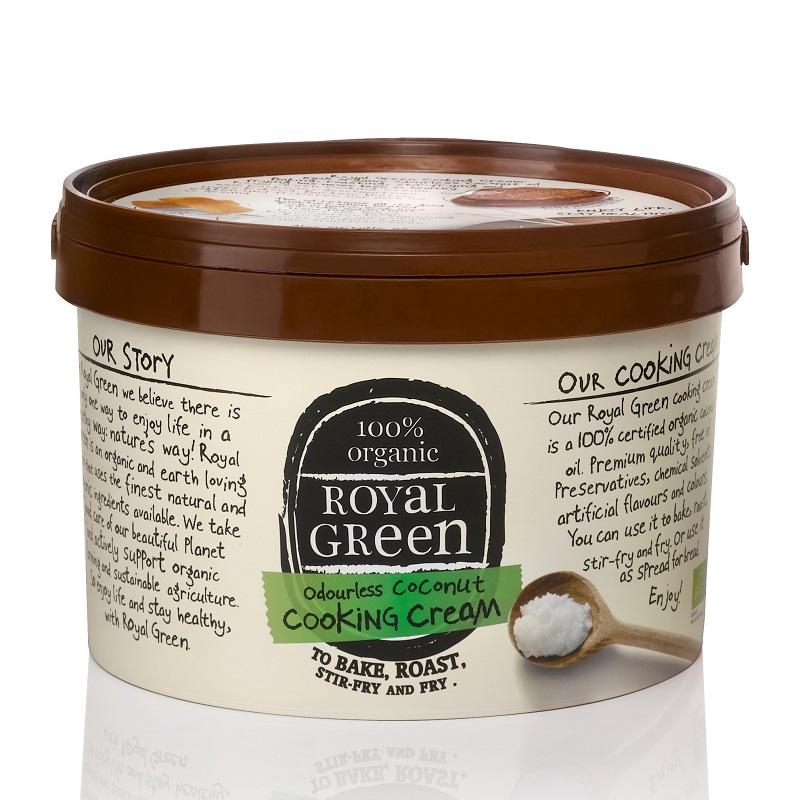 《大容量》香りのない有機ココナッツオイル(2.5L) Royal Green