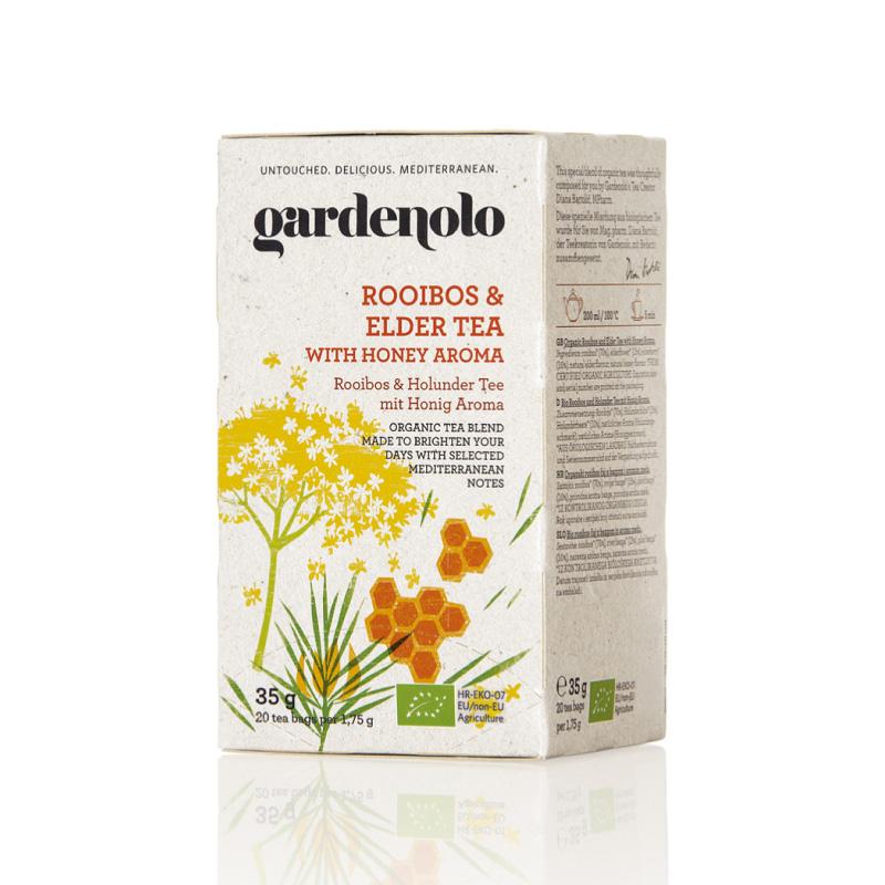 有機ルイボス&エルダーティー35g(1.75g×20ティーバック)|gardenolo