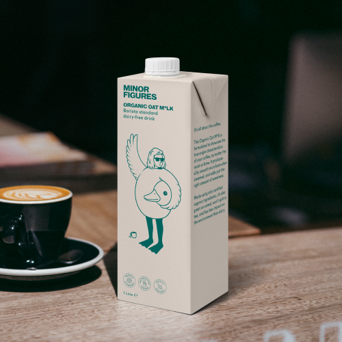 【9月上旬入荷予定】有機 バリスタ オーツミルク 1L|MINOR FIGURES