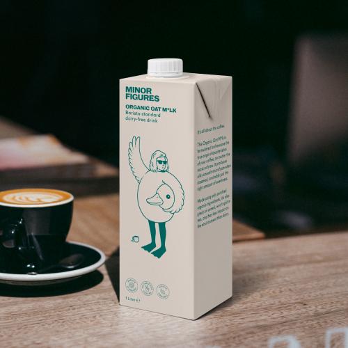 有機 バリスタ オーツミルク 1L×6本 MINOR FIGURES