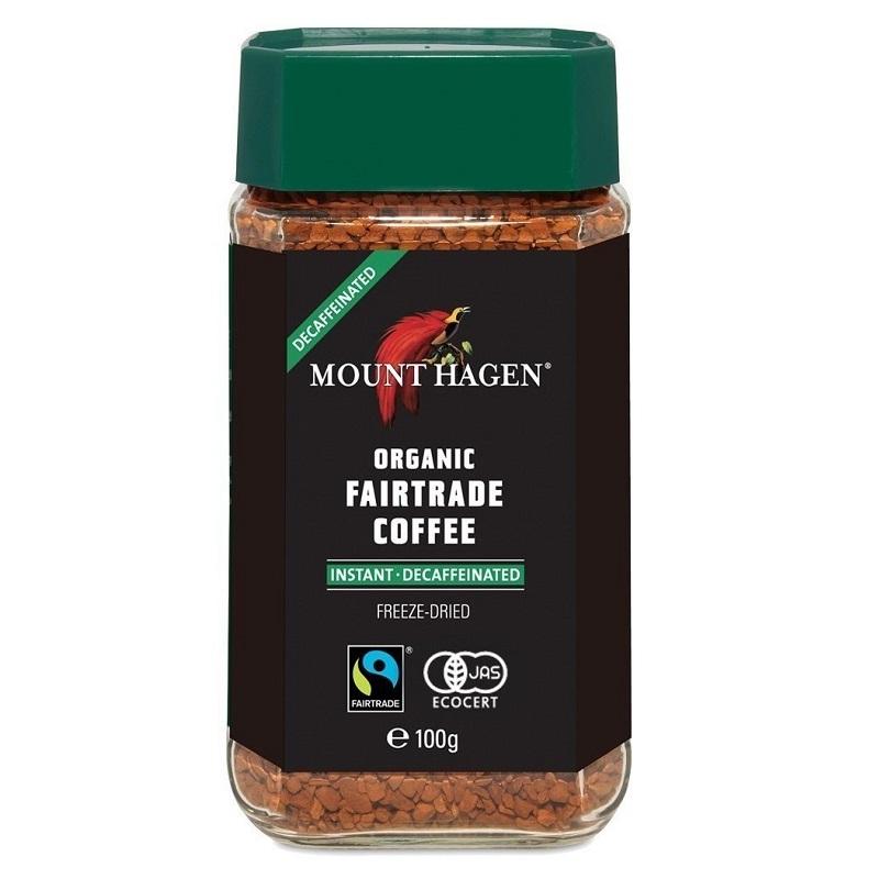 オーガニック フェアトレード カフェインレスインスタントコーヒー 100g|MOUNT HAGEN