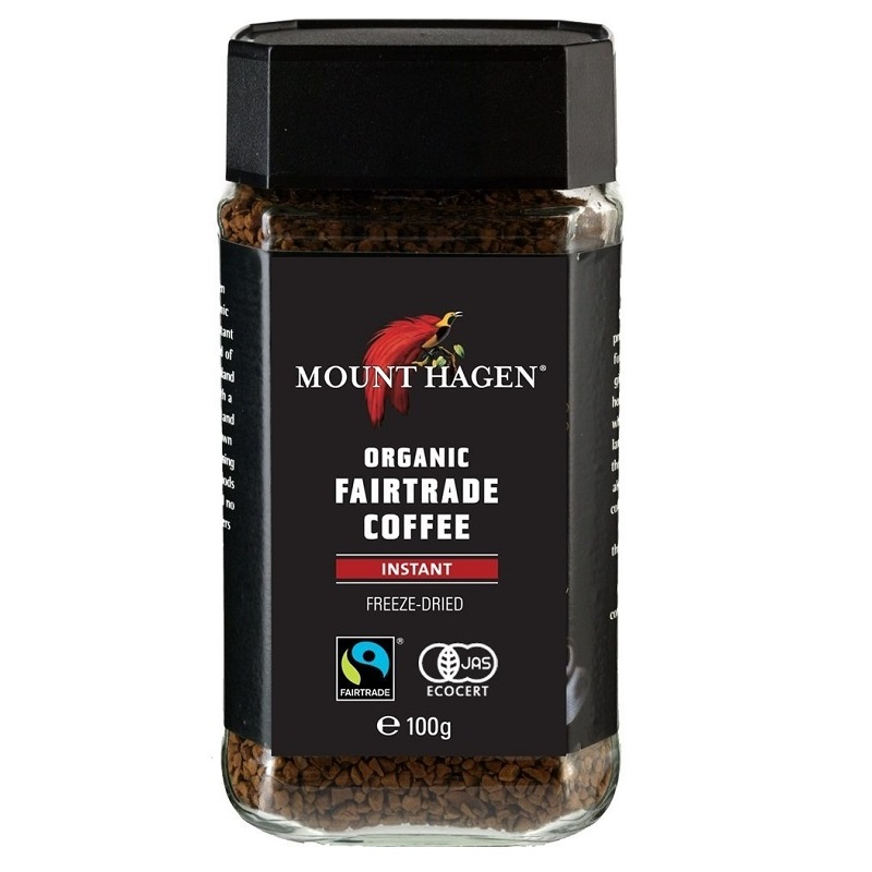 オーガニック フェアトレード インスタントコーヒー 100g|MOUNT HAGEN
