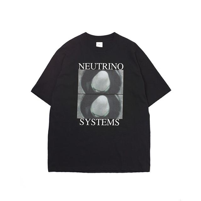 Name. ネーム  NUTRINO SYSTEMS PRINTED HALF SLEEVE TEE