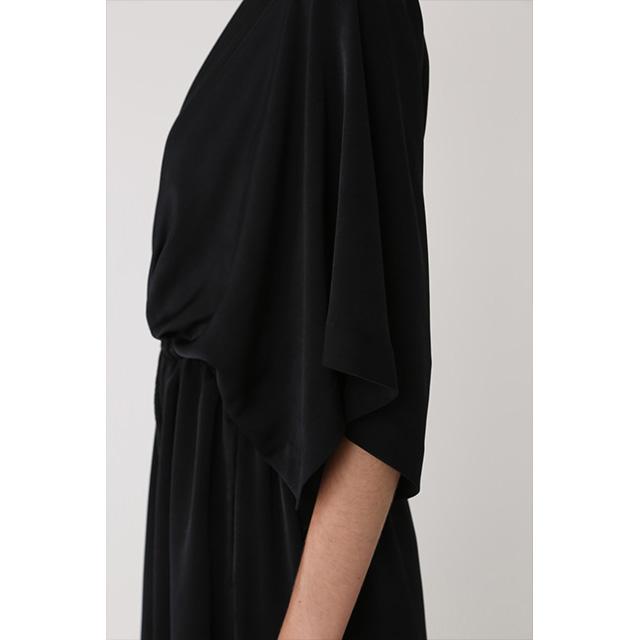 RIM.ARK / リムアーク  カシュクールサテンロングドレス