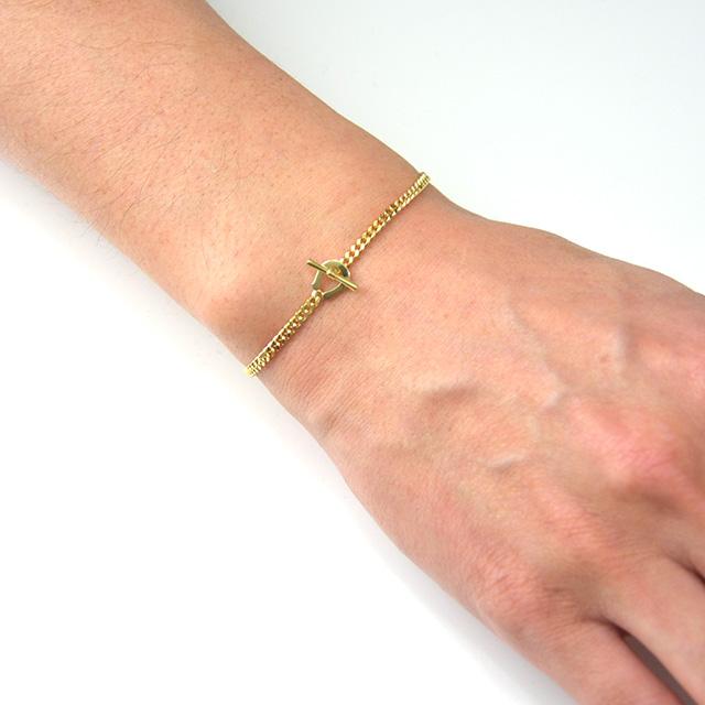 シンパシーオブソウル Classic Chain Bracelet K18YG