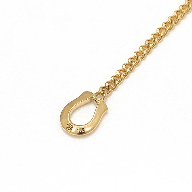 シンパシーオブソウル Classic Chain Necklace - Narrow K18YG